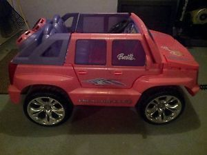 Cadillac Escalade Power Wheels Girls Pink