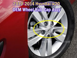 2010 2011 2012 2013 2014 Hyundai IX20 Wheel Hub Caps 4pc Set
