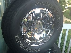 2002 Cadillac Escalade Rims and Tires