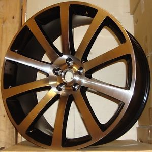 "22"" 300C Chrysler Alloy Wheels 265 35 22 Tyres 621 Style"