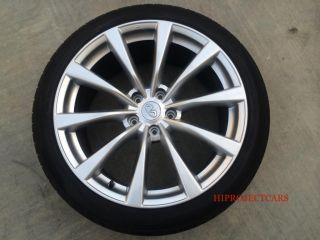 "08 09 10 Factory Infiniti G37 19"" Wheels and Tires G37 G35 Enkei Honda 18 17"