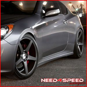 "19"" Infiniti G35 Sedan Avant Garde M550 Concave Staggered Wheels Rims"
