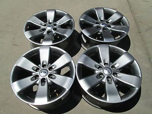 "20"" Ford F150 Truck Expedition Charcole Factory Wheels Rims 2013"