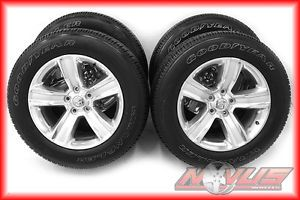 "20"" Dodge RAM 1500 Truck Dodge Durango Factory Wheels Goodyear Tires 22"