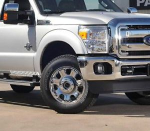 "2013 Ford F250 F350 Super Duty 20"" Chrome Clad Factory Wheels and Tires"