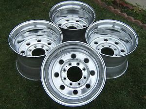 "Weld Racing Super Single Wheels 16 5"" x 12"" 8 Lug Rims Ford F250 F350 Super Duty"