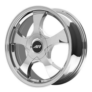 15 inch AR895 Chrome PVD Wheels Rims 4x98 Fiat 500 Abarth Cabrio Lounge Sport