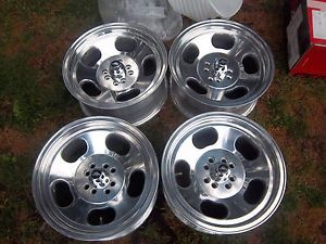 15 American Racing Ansen Sprint Slotted Mag Wheels Rims 4x98mm 4x4 25 Fiat Slot