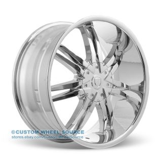 "18"" Borghini B14 Chrome Wheel Tire Package for Dodge Fiat Ford Honda"