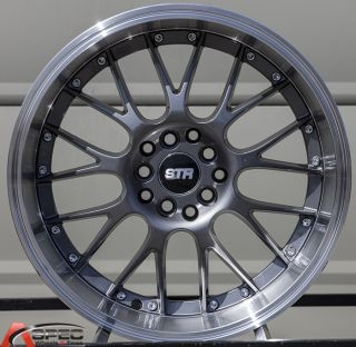17x9 Str 514 5x100 20 Gun Metal Wheel Fit Scion Fr s Subaru BRZ Scion TC