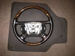 Jaguar XJ8 XJR Wood Steering Wheel