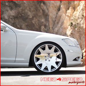 "20"" Lexus GS300 GS400 GS430 MRR HR3 Chrome Rims Wheels"