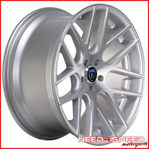 "20"" Lexus SC430 SC Rohana RC26 Concave Silver Staggered Wheels Rims"
