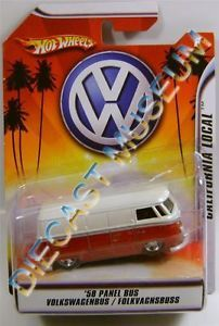 1958 '58 Volkswagen VW Panel Bus Folkvagnsbuss Hot Wheels HW 1 50 Diecast RARE
