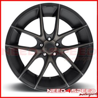 "19"" Niche Targa Black Fits Scion FRS Concave Wheels Rims"