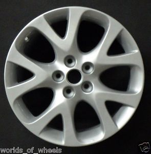 "2009 2010 2011 Mazda 6 18"" 10 Spoke Factory Alloy Wheel Rim H 64919"