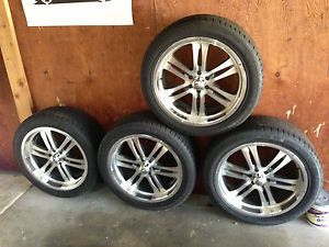 Nissan Frontier Xterra Pathfinder 20 inch Wheels and Tires