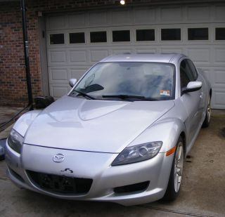2006 Mazda RX8 6 Speed Manual Transmission Get Whole Car for Parts or Fix Up