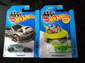 2012 Hot Wheels Treasure Hunt Cars.