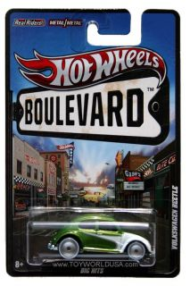 2012 Hot Wheels Boulevard Big Hits Volkswagen Beetle