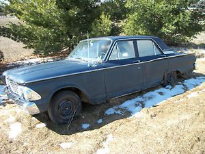 1962 Ford Fairlane Parts Project Car