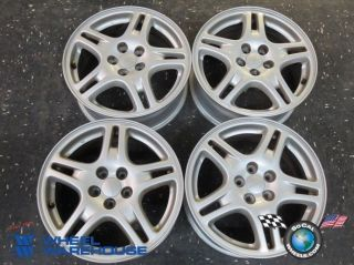 "Four 02 05 Subaru Impreza WRX Factory 16"" Wheels Rims 5x100 68721"