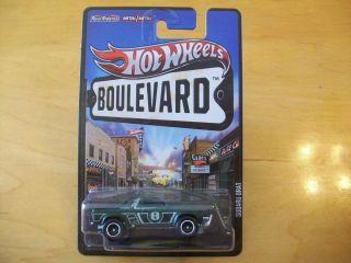 New 2013 Hot Wheels Boulevard Series Subaru Brat Green