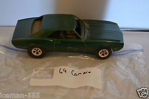 Green 1969 69 Camaro Model Car Kit Junk Parts Project