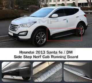 Side Step Nerf Cab Running Board A Type Fit Hyundai 2013 Santa FE DM