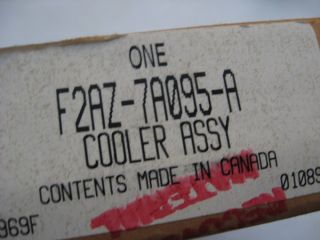 Ford F2AZ 7A095 A Transmission Oil Cooler Crown Vic Mercury Marquis