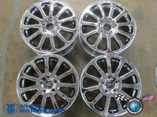 Four 99 07 Volvo 60 70 80 Series Factory 16 Chrome Wheels Rim 70210 Outright