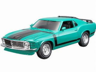 1970 Ford Mustang Boss 302 Maisto Special Edition Diecast 1 24 Green