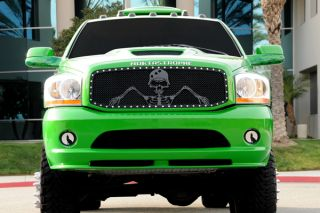 T Rex 02 05 Dodge RAM Upper Billet Grille x Metal Series Black Mesh Grill