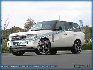 "Land Rover Range Rover Sport LR3 LR4 22"" inch Wheels Rims Tires Package Gunmetal"