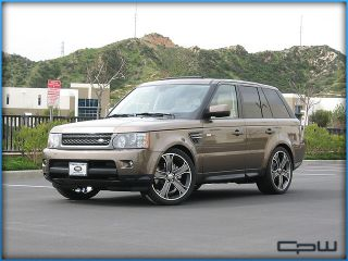 "Range Rover Sport Supercharged 22"" inch Wheels Rims Tires Package Deal Gunmetal"