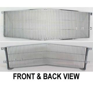 New Grille Insert Grill Chrome Cadillac Fleetwood 86 85 84 83 Parts Car 1627813