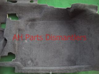 06 07 08 Acura TSX Black Front Floor Mat Interior Carpet 83301 Sec A02ZB