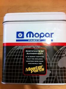 Mopar Parts Coasters Award Chrysler Dodge Plymouth Jeep