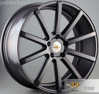 "20"" Rangerover Supercharged 2005 2010 SUV Judd T202 Staggered Alloy Wheels 5x120"
