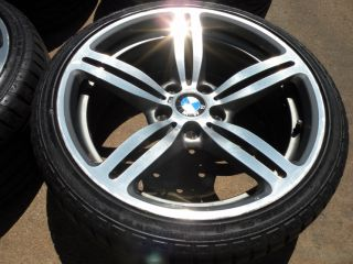 "19"" Factory BMW M6 Wheels BMW 5 7 8 Series 525 528 530 535 545 550 E60 Tires"