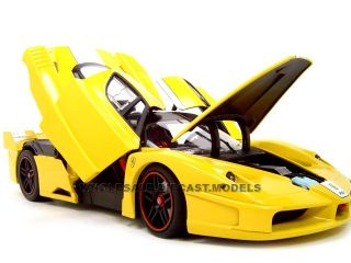 Ferrari FXX Elite Edition Yellow 1 18 Hot Wheels Model