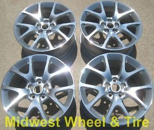 "Original 19"" Buick Regal Wheels Rims 4108 Factory Stock"