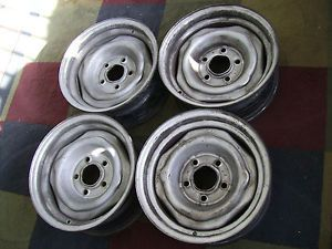 Buick Chevy GMC Pontiac Oldsmobile 14x6 Factory 5x4 75 Bolt Stock Wheel Rims