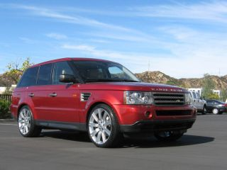 "New Stormer II 22"" inch Wheels Rims Tires Package Range Rover Sport Supercharged"