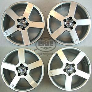 "Four Volvo 17""x8 Pegasus Alloy Rims Wheels for S60 R V70 R 04 09"