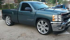 "2013 Chevy Silverado 24"" Wheels Rims Fit 2007 2008 2009 2010 2011 Tahoe 22"""