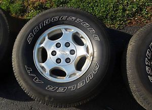 "2004 Chevy Silverado 1500 16"" Stock Rims Wheels Chevrolet Pickup"