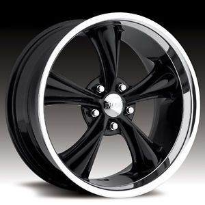 Boss 338 Wheels Black Rims 18x8 Fits Chevy S10 Blazer Xtreme Jimmy Sonoma 5x120