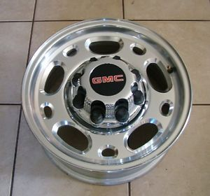 "Chevy Silverado GMC Sierra 2500 HD 2500HD 16"" 8 Lug Wheels Duramax with GMC Cap"