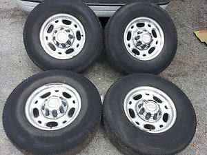 "Chevy GMC 16"" 8 Lug Alloy Wheels Rims 2500 3500 HD Silverado Sierra"